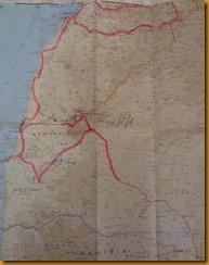 Angola landkarte